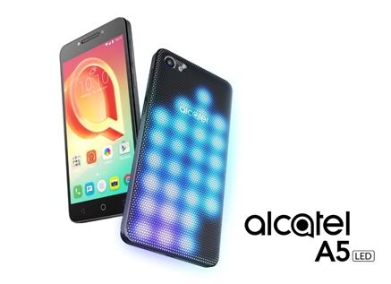 Alcatel A5 LED, el primer smartphone cubierto de luces LED interactivas del mundo