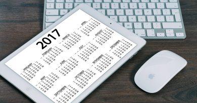 Nuevo calendario de actividades y eventos