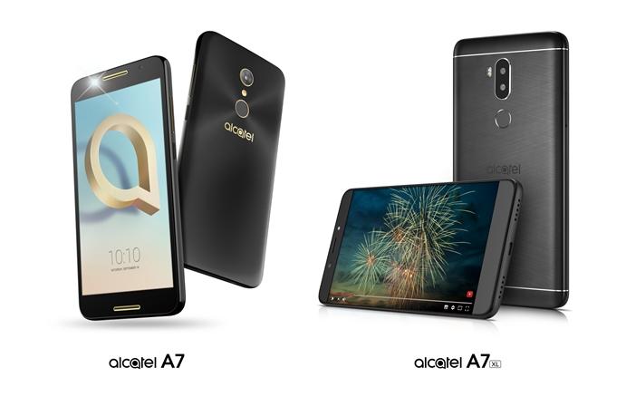 Alcatel revela la nueva serie de smartphones de alto rendimiento A7